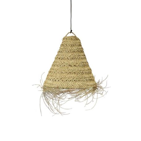 Essaouira seagrass lamp / Triangle - M - Ø 55 cm