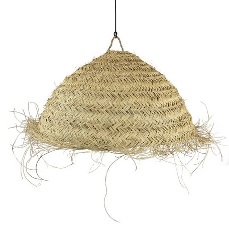 Essaouira seagrass lamp / Circle - M - Ø 55 cm