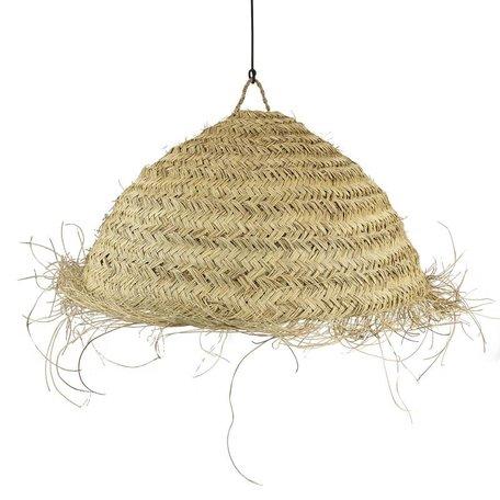 Essaouira seagrass lamp / Circle - Medium