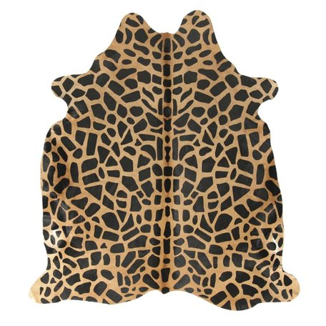 Carpet Cowhide - Giraffe