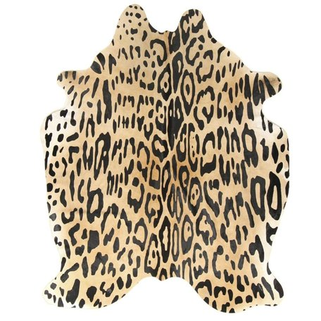Carpet Cowhide - Jaguar