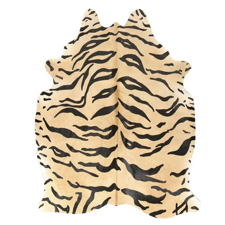 Carpet Cowhide - Tiger