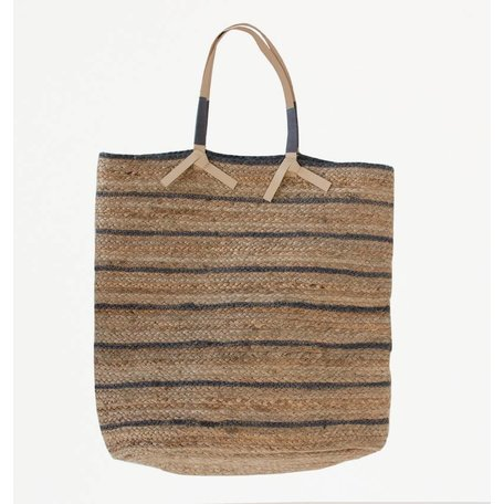 Jute bag / basket - Sakiori