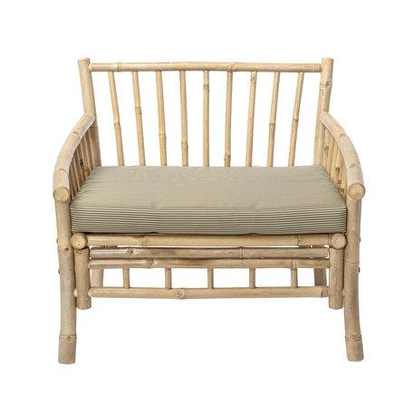 Bamboe lounge stoel - Sole