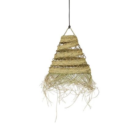 Essaouira seagrass lamp / Triangle open - XL - Ø 70 cm