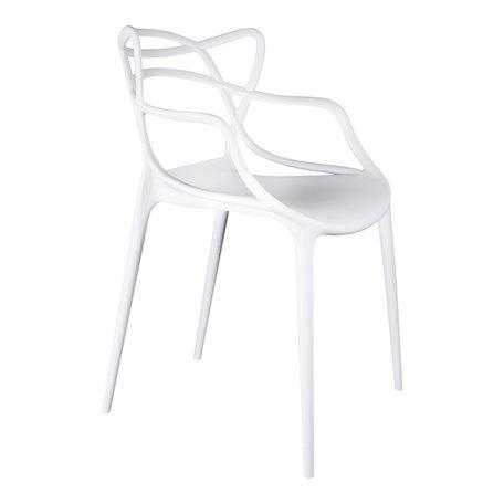 Design chair Flinder - White