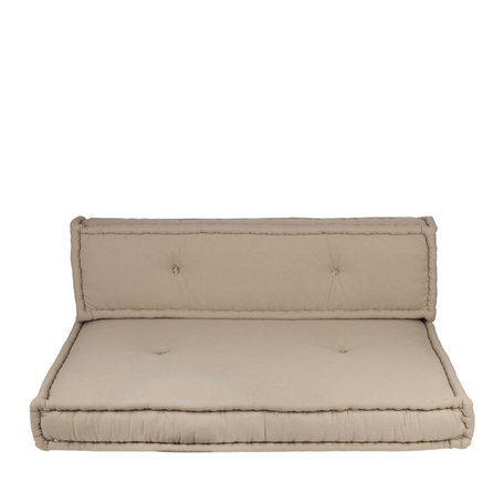 Moroccan mattress cushion - Natural - various sizes