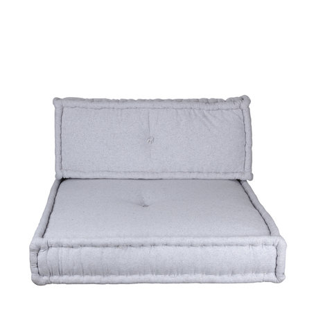 Marokkaans matraskussens - Licht grijs