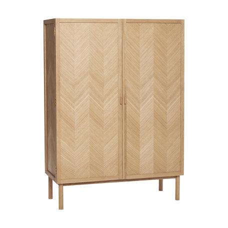 Cabinet Herringbone - Oak
