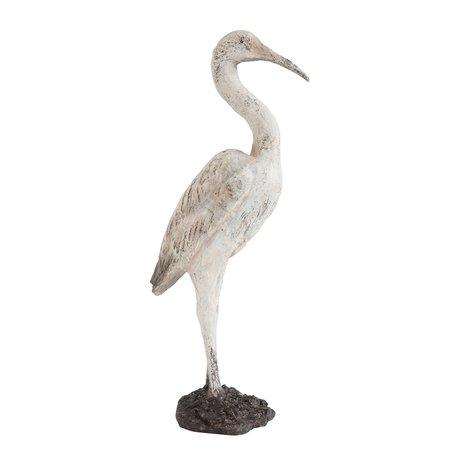 Decoratieve vogel - Grijs