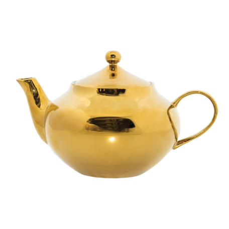 Goodmorning teapot - Gold
