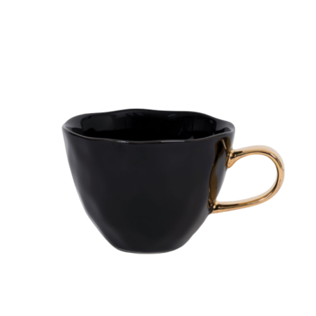 Good morning mug - Mug golden ear - Black