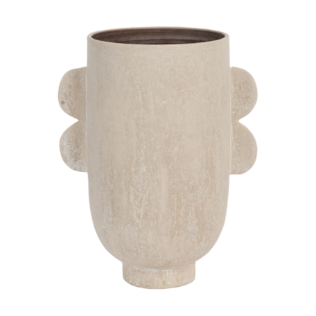 Ceramic design vase Darius - vase ears