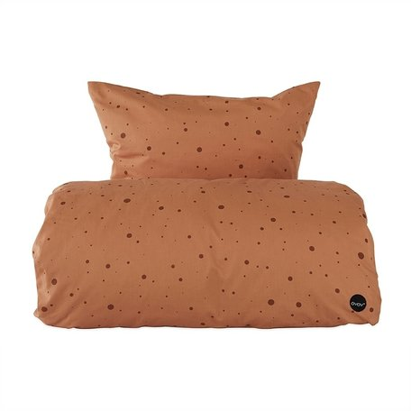 DOT bedding - Caramel