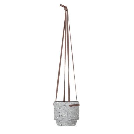 Hanging pot plant concrete - Grey