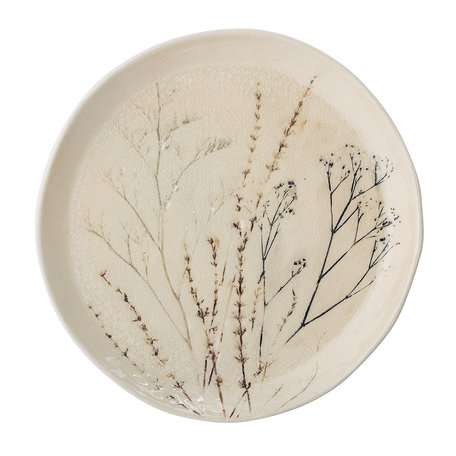 Bea plate -  Handmade - Ø27,5 cm
