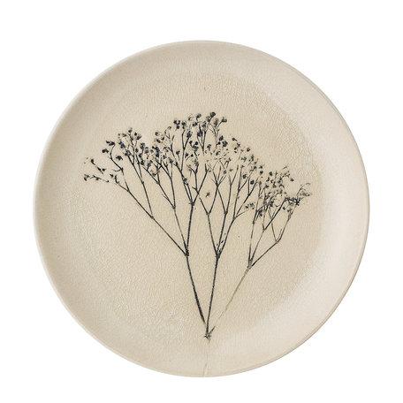 Bea plate -  Handmade - Ø 22 cm