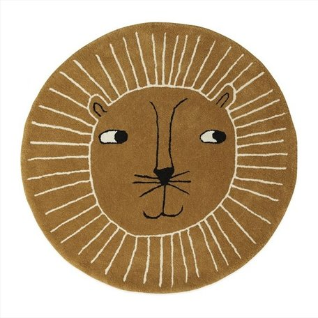 Carpet Lion - Round