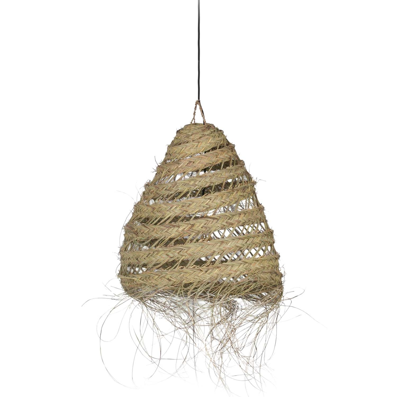 Essaouira Lamp Summer Moroccan Seagrass Lamp Livv Lifestyle