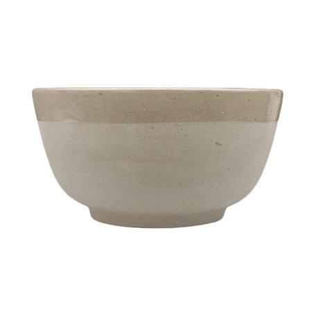 Earthenware bowl / Natural - Ø 10 cm