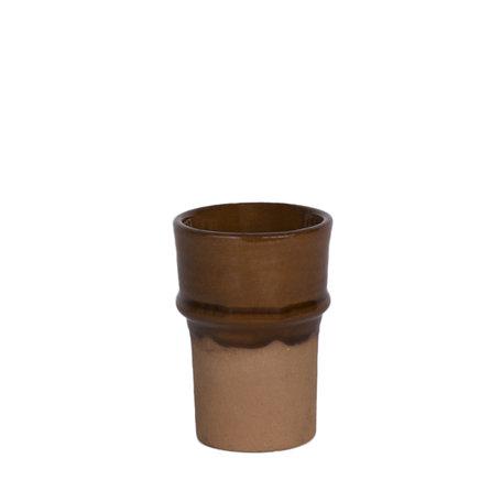 Aardewerk beker - Terracotta