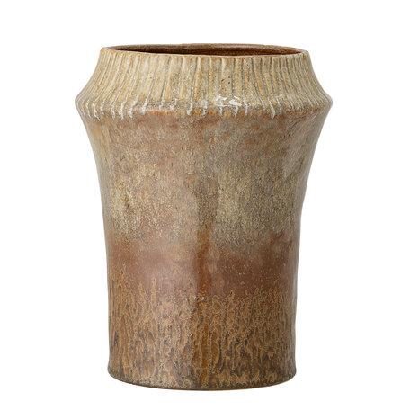 Ceramic  vase  - Brown - Retro