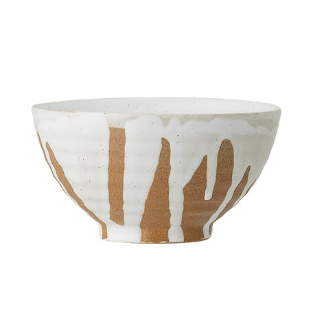 Camellia bowl - Drippers white
