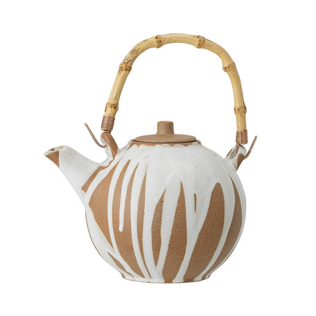 Camellia teapot - Drippers white