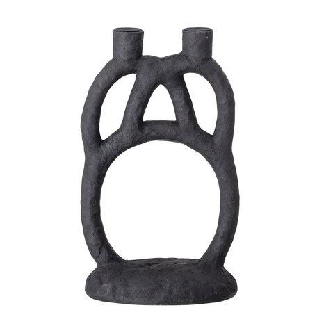 Stoere kandelaar - Zwart