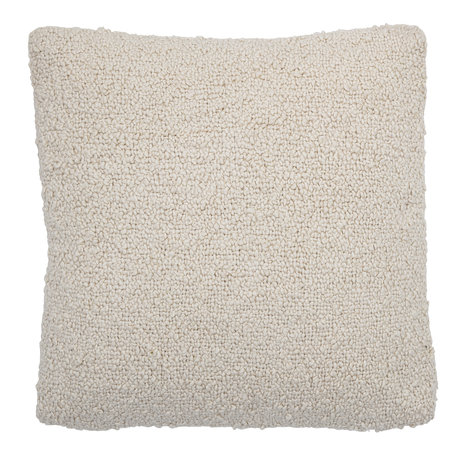 Boucle cushion - Nature