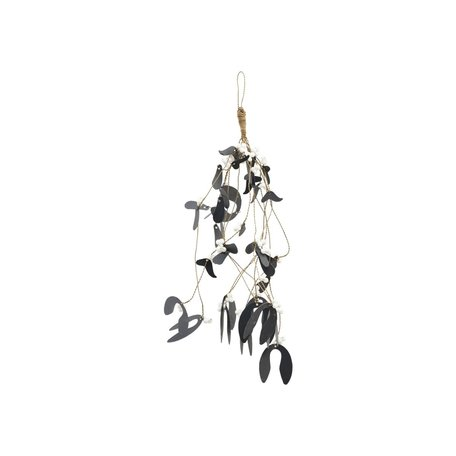 Ornament Mistletoe - Zwart