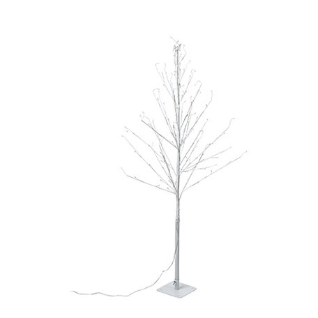 Tree with lights - White - 120 cm