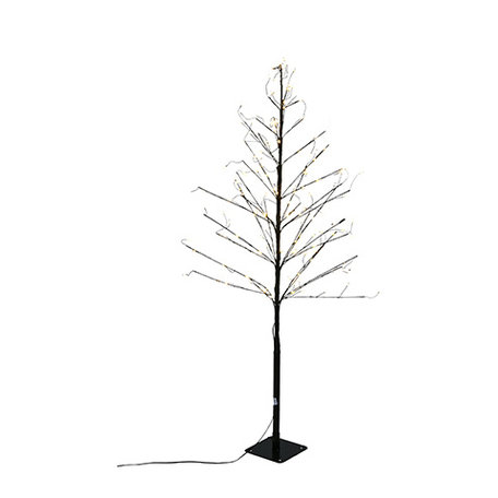 Tree with led lights - Black - 120 cm