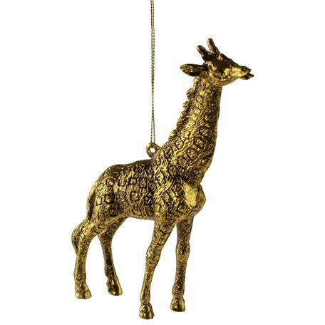 Christmas ornament - Giraffe - Gold