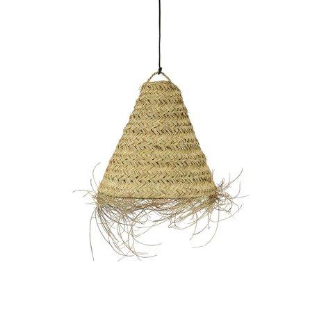 Essaouira seagrass lamp / Triangle - M - Ø 50 cm
