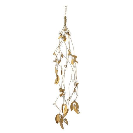 Ornament Mistletoe - Gold