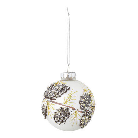 Glass ornament  - Brocante style