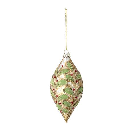 Punt  ornament -  Glas - Victoriaans