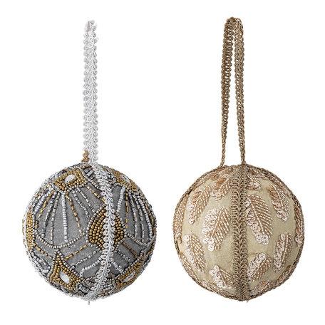 Christmas ornament - Beads - Set of 2