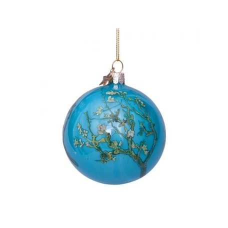 Kerst ornament - Van Gogh - Blue blossom
