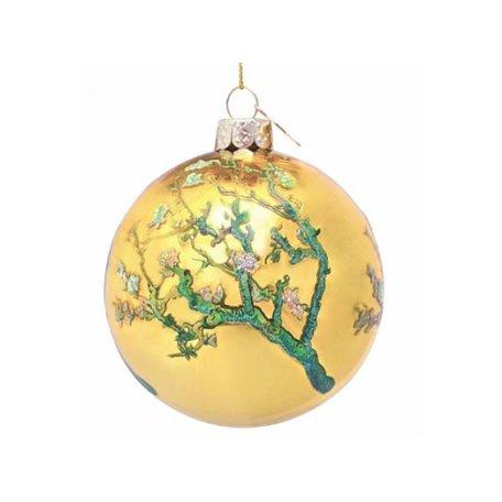 Kerst ornament - Van Gogh - Gold blossom