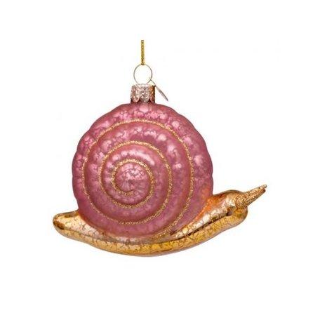 Kerst hanger - Slak - Roze