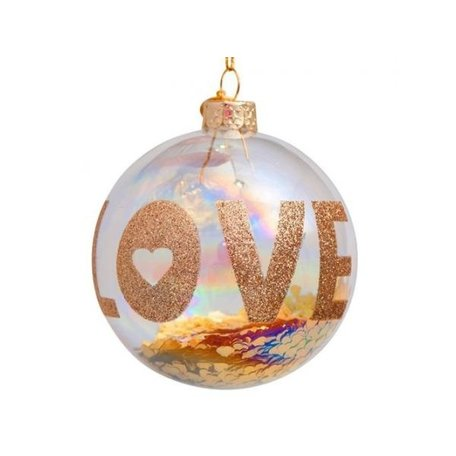 Christmas bauble - LOVE