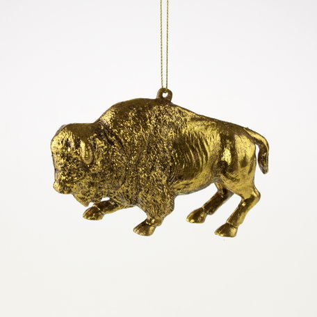 Christmas pendant - Buffalo - Gold