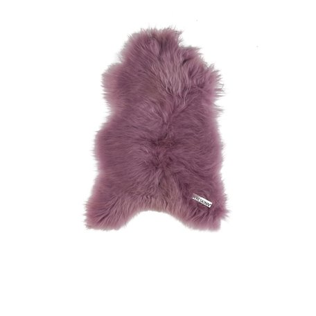 Icelandic sheep fur - Lilac