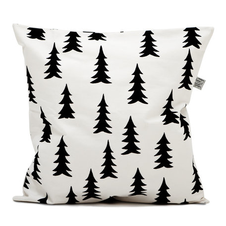 Cushion cover Gran - Black / White