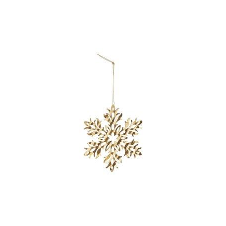 Snow flower - Antique gold