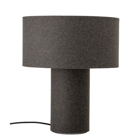 Tafellamp wol - Antraciet