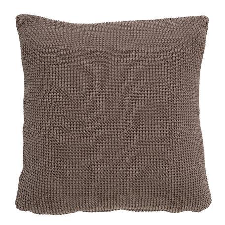 Brown cushion - Waffle