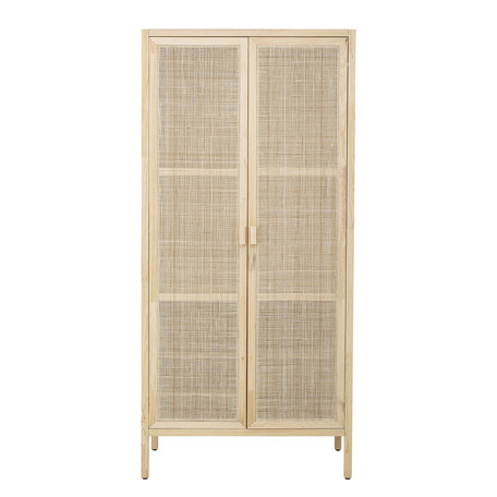 Rattan hanging / laying cabinet - Mariana